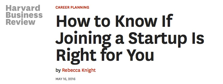 Cluster & Startups: How to Know If Joining a Startup Is Right for You
